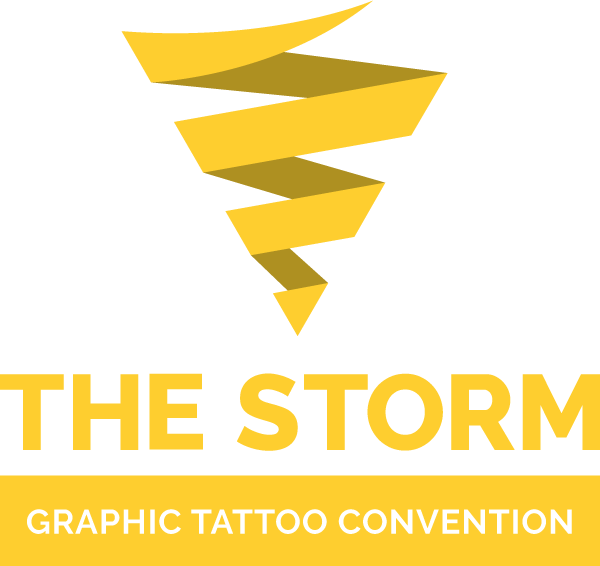 The Storm Graphic Tattoo Convention Logo.