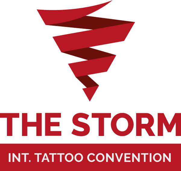 The Storm International Tattoo Convention Logo.