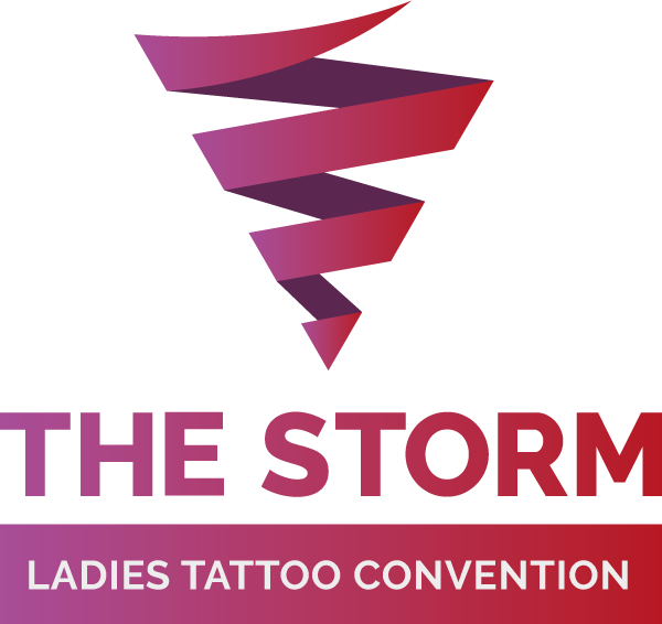 The Storm Ladies Tattoo Convention Logo.